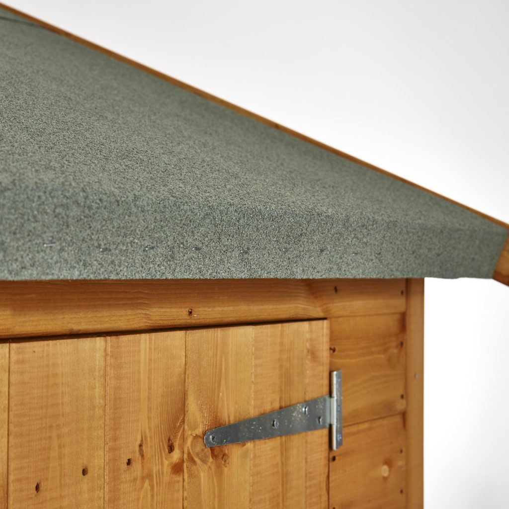 Polyester Mineral Felt on Shed Roof